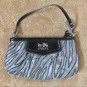 Coach Zebra Print Mini Bag